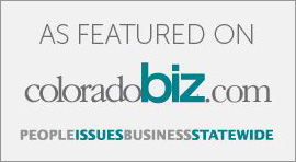 As Featured on Colorado Biz with link to articles written by Kathy Holmes